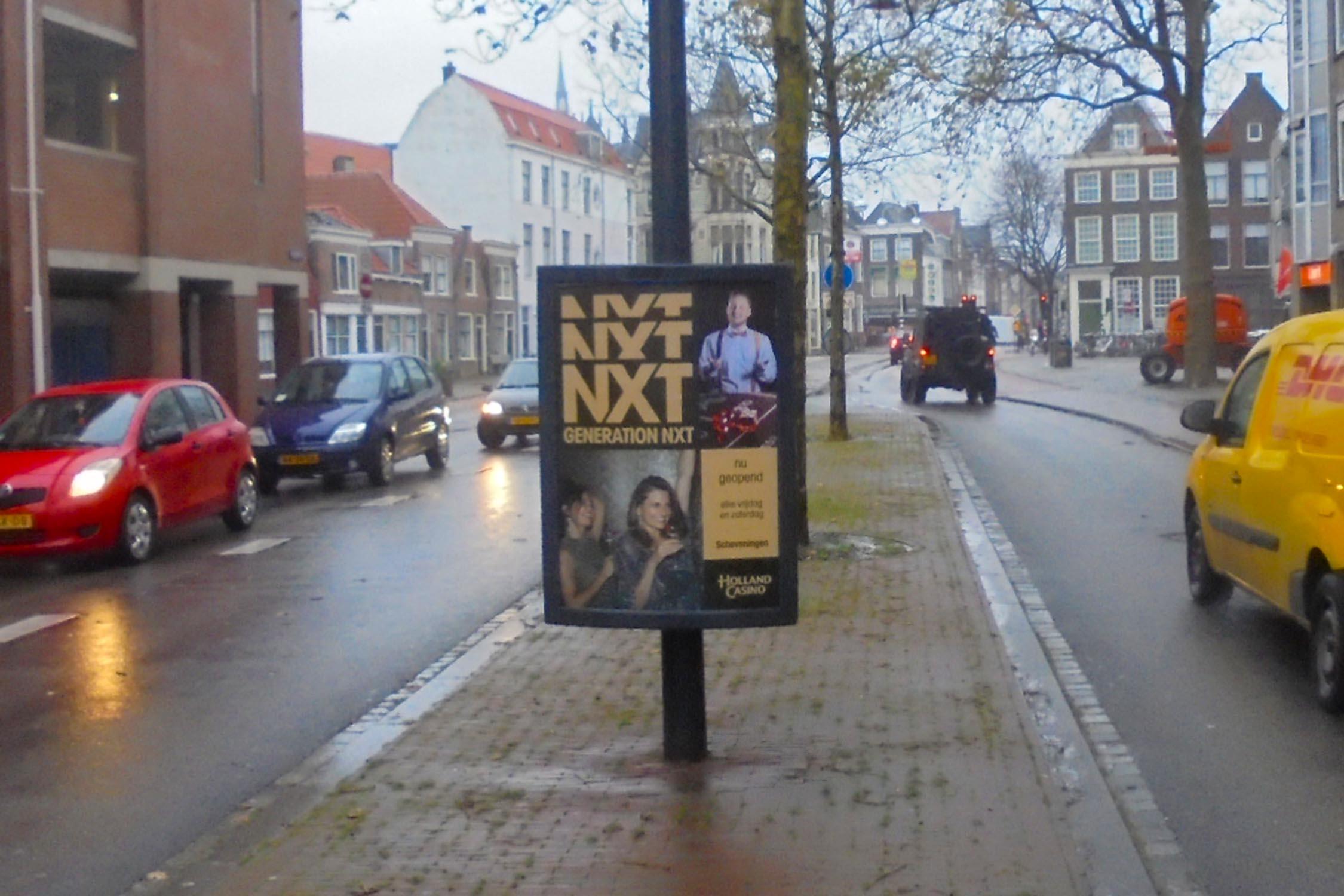 Citydisplays nu ook in Leiden